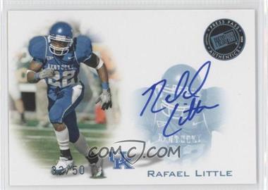 2008 Press Pass Signings Blue #PPS-RL - Rafael Little /50
