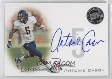 2008 Press Pass Signings Silver #PPS-AC2 - Antoine Cason /199