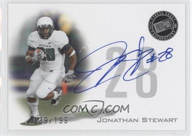 2008 Press Pass Signings Silver #PPS-JS - Jonathan Stewart /199