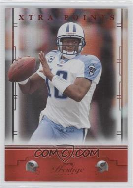 2008 Prestige - [Base] - Xtra Points Red #95 - Vince Young /100