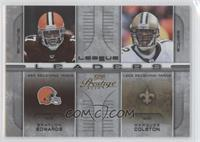 Braylon Edwards, Marcus Cotton /100