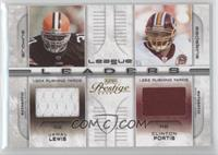 Jamal Lewis, Clinton Portis, Edgerrin James, Willis McGahee /250