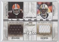 Braylon Edwards, Marcus Cotton /250
