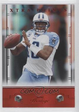 2008 Prestige Red Xtra Points #95 - Vince Young /100