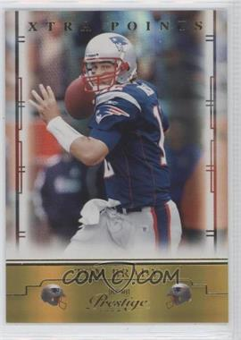 2008 Prestige Xtra Points Gold #56 - Tom Brady /250