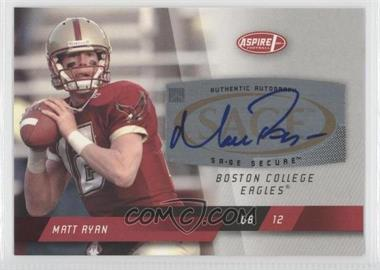 2008 SAGE Aspire [???] #A1 - Matt Ryan
