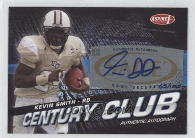 2008 SAGE Aspire Century Club Autographs [Autographed] #ACC-15 - Kevin Smith /100