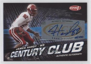 2008 SAGE Aspire Century Club Autographs [Autographed] #ACC-24 - James Hardy /100