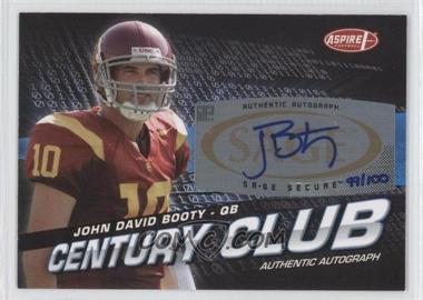 2008 SAGE Aspire Century Club Autographs [Autographed] #ACC-5 - John David Booty /100
