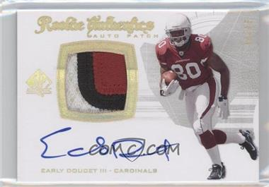 2008 SP Authentic - [Base] - Gold #291 - Early Doucet /25