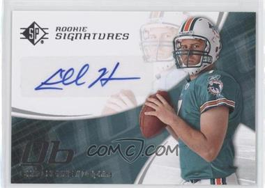 2008 SP Authentic - [Base] - Retail #142 - Chad Henne