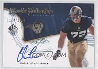 Rookie Authentics Signatures - Chris Long /1199