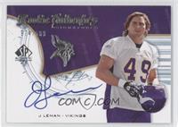 Rookie Authentics Signatures - J Leman /999