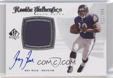 2008 SP Authentic - [Base] #285 - Rookie Authentics Auto Patch - Ray Rice /999