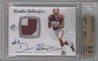 Rookie Authentics Auto Patch - Devin Thomas /499 [BGS 9.5]