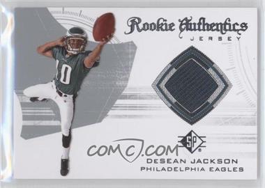 2008 SP Authentic - Rookie Authentics Jerseys - Retail #RA-12 - DeSean Jackson