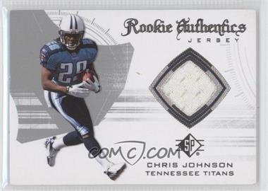2008 SP Authentic - Rookie Authentics Jerseys - Retail #RA-13 - Chris Johnson