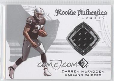 2008 SP Authentic - Rookie Authentics Jerseys - Retail #RA-19 - Darren McFadden