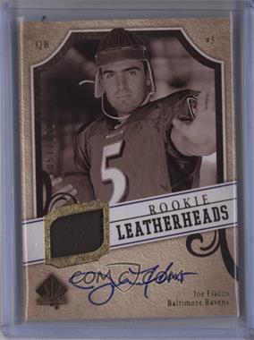 2008 SP Authentic - Rookie Leatherheads #LH-JF - Joe Flacco /150