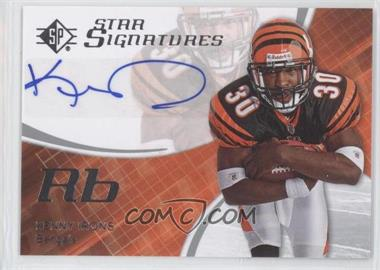 2008 SP Authentic - Star Signatures #SPSS-2 - Kenny Irons