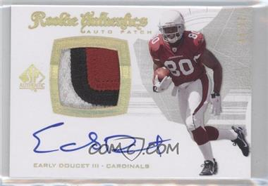 2008 SP Authentic [???] #291 - Early Doucet