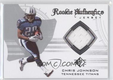2008 SP Authentic [???] #RA-13 - Chris Johnson