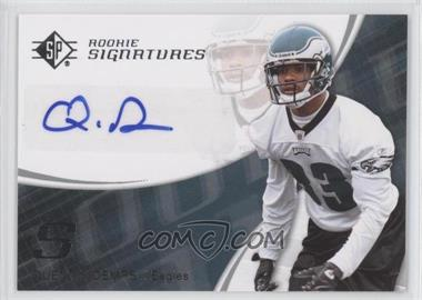 2008 SP Authentic Retail #157 - Quintin Demps