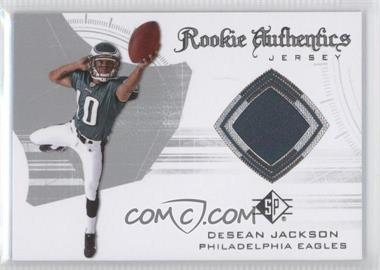 2008 SP Authentic Rookie Authentics Jerseys Retail #RA-12 - DeSean Jackson