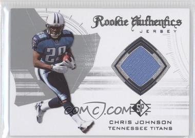 2008 SP Authentic Rookie Authentics Jerseys Retail #RA-13 - Chris Johnson