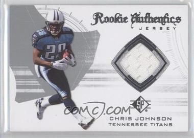 2008 SP Authentic Rookie Authentics Jerseys Retail #RA-13 - Chris Johnson