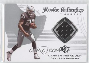 2008 SP Authentic Rookie Authentics Jerseys Retail #RA-19 - Darren McFadden