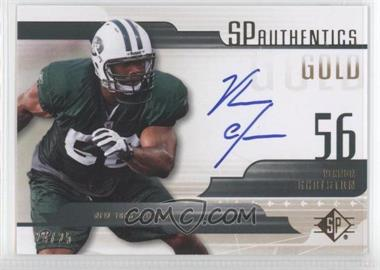 2008 SP Authentic SP Authentics Gold #SP-VG - Vernon Gholston /25