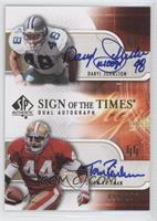 Daryl Johnston, Tom Rathman /100
