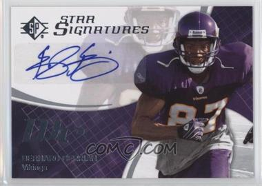 2008 SP Authentic Star Signatures #SPSS-11 - Bernard Berrian