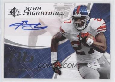 2008 SP Authentic Star Signatures #SPSS-18 - Brandon Jacobs