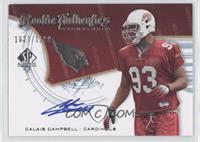 Rookie Authentics Signatures - Calais Campbell /1199