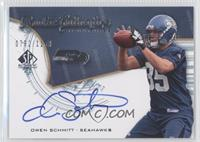 Rookie Authentics Signatures - Owen Schmitt /1199