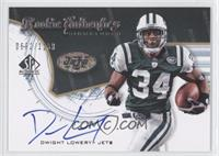 Rookie Authentics Signatures - Dwight Lowery /1199