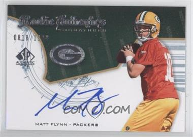 2008 SP Authentic #228 - Matt Flynn /1199