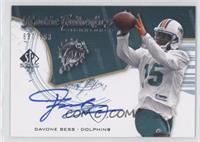Rookie Authentics Signatures - Davone Bess /999