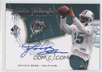 Rookie Authentics Signatures - Davone Bess /999