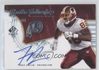 Rookie Authentics Signatures - Fred Davis /999