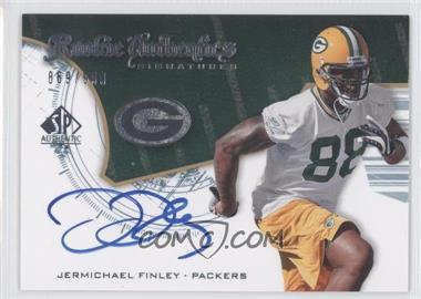 2008 SP Authentic #241 - Rookie Authentics Signatures - Jermichael Finley /999