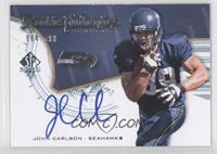 Rookie Authentics Signatures - John Carlson /999