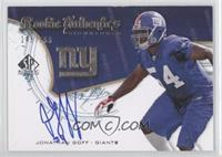 Rookie Authentics Signatures - Jonathan Goff /999