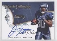 Rookie Authentics Signatures - Justin Forsett /999