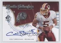 Colt Brennan /399