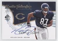 Rookie Authentics Signatures - Kellen Davis /399