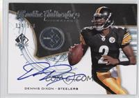 Rookie Authentics Signatures - Dennis Dixon /399