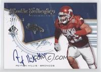 Peyton Hillis /399